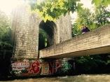 Romantic Swiss bridge